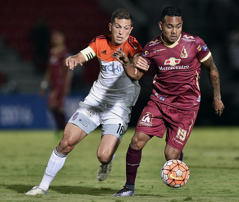 El Deportivo La Guaira buscara su pase a la otra fase. Foto AFP